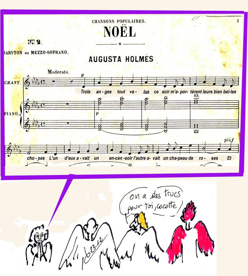 chanson de noel 3 anges