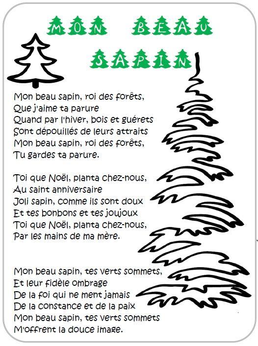 Chanson De Noel En Francais Avec Parole