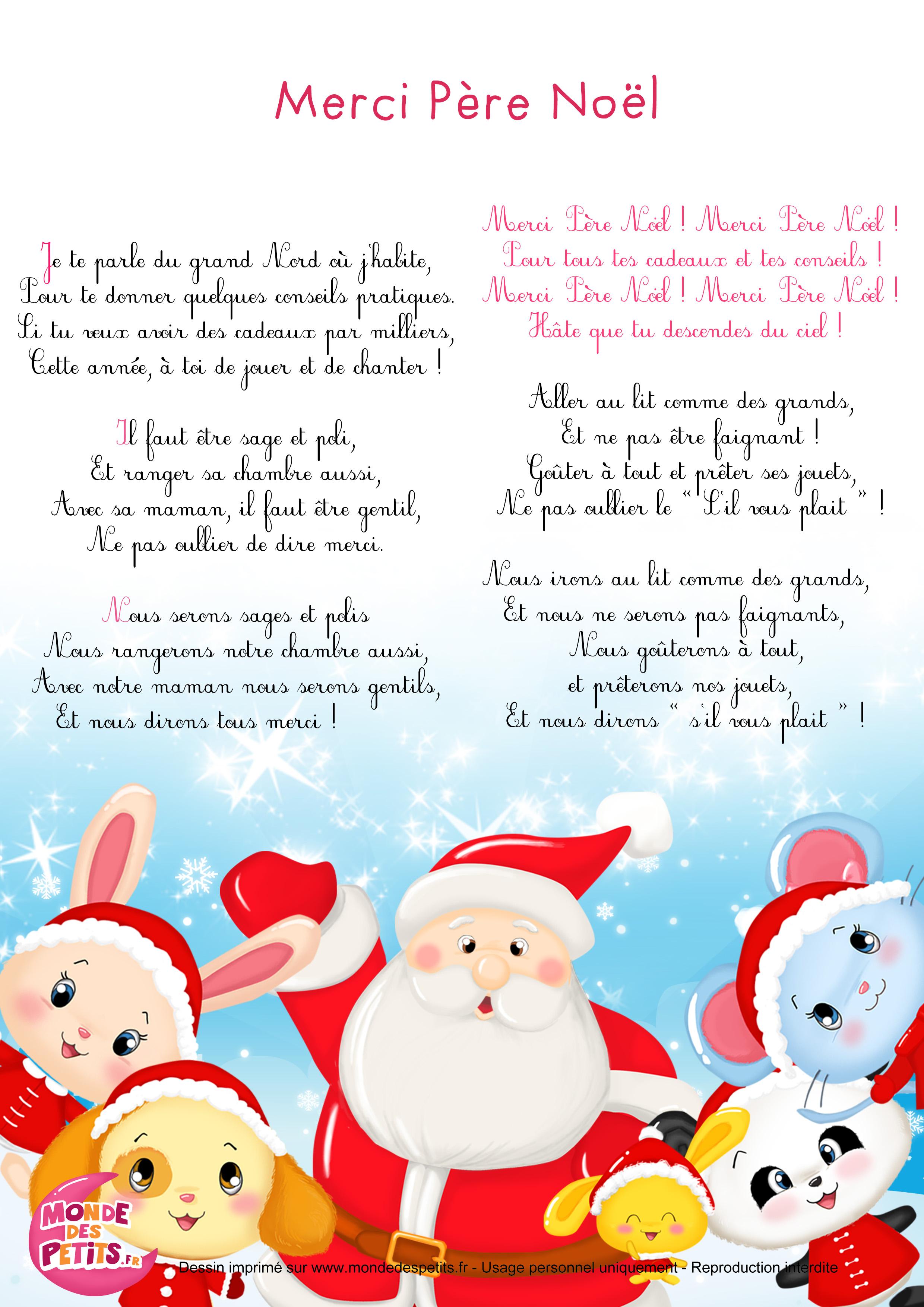 chanson de noel francophone