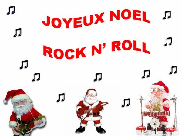 chanson de noel rock n roll