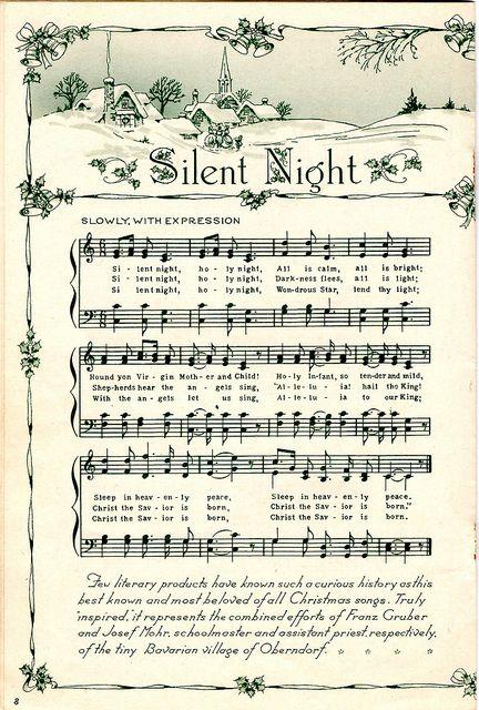 chanson de noel silent night