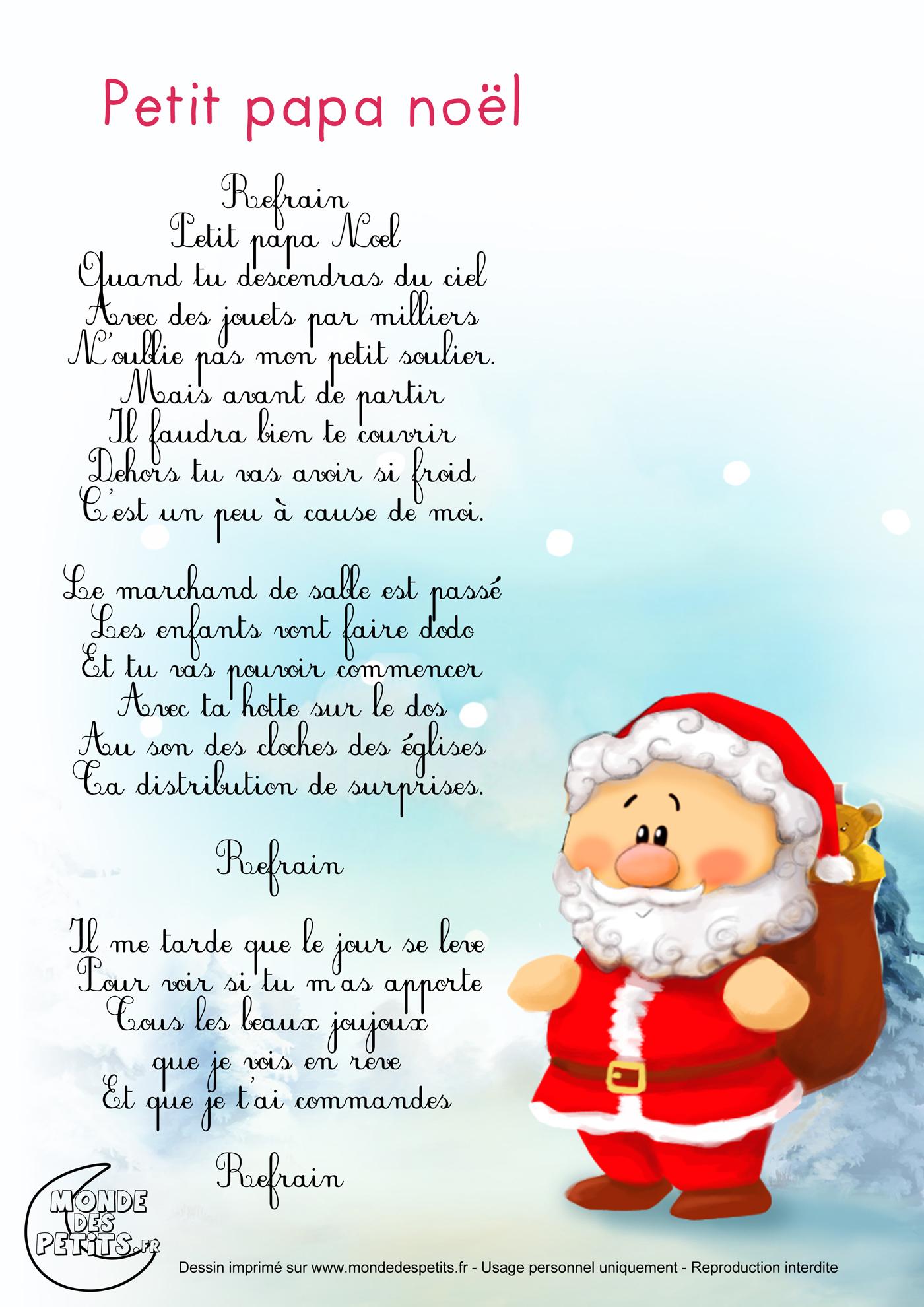 Chanson Joyeux Noel.Chanson De Noel