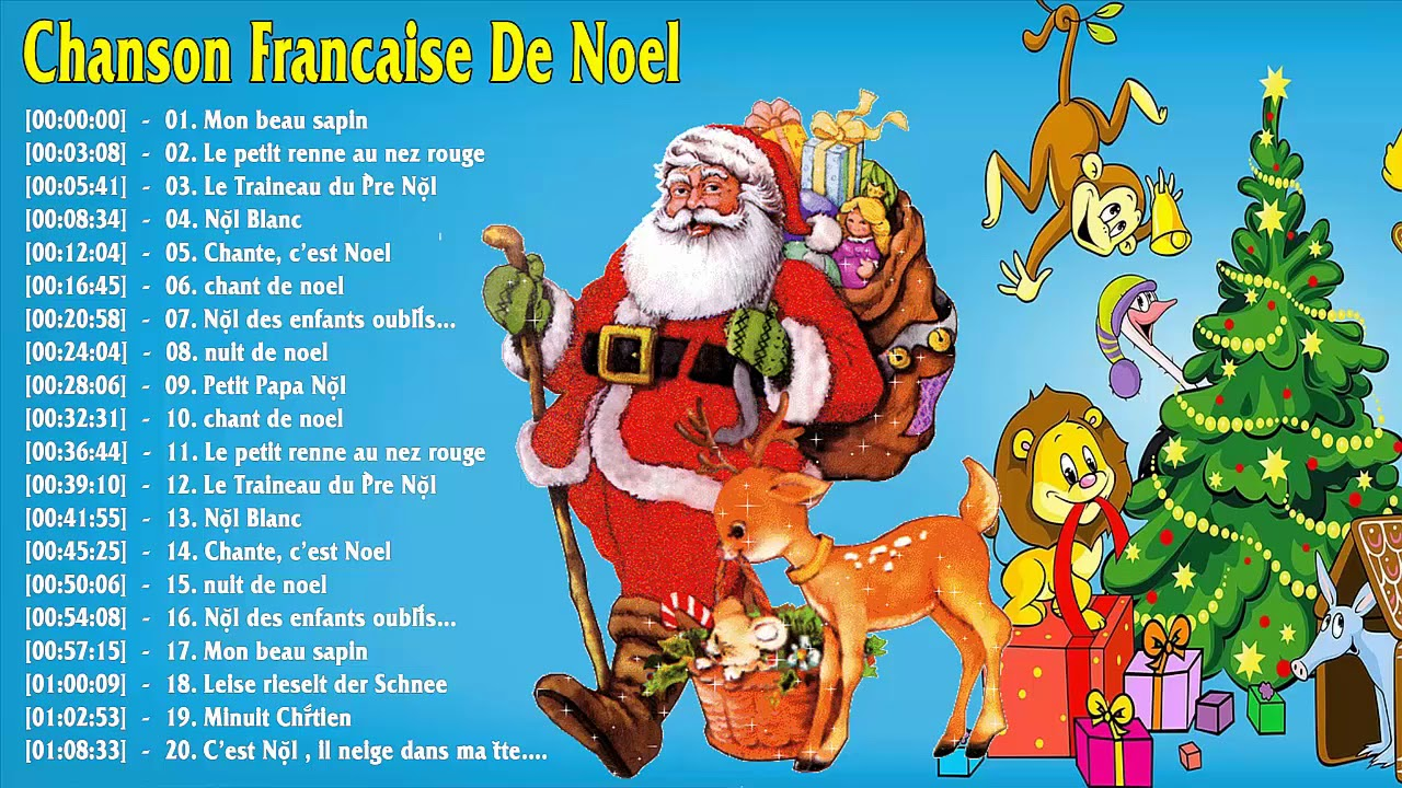 chant de noel bubble