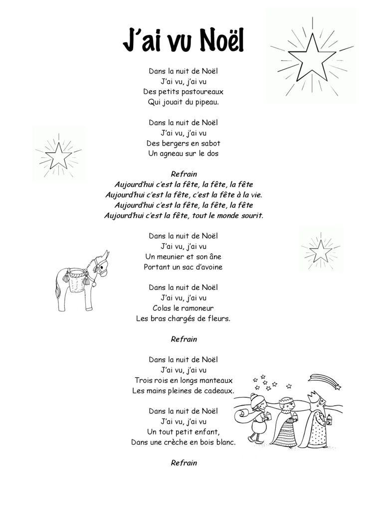 Monde Secret Du Pere Noel Paroles : chant de noel chorale cycle 3 ~ Pogadajmy.info Styles, Décorations et Voitures
