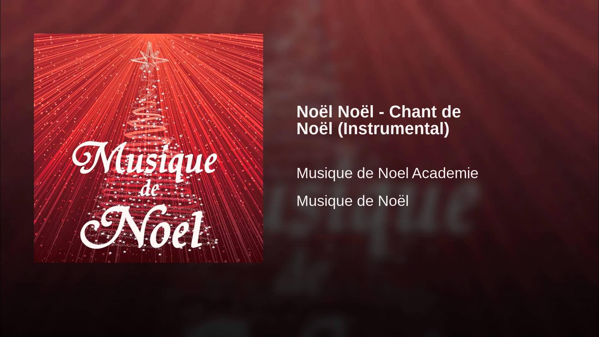 chant de noel instrumental