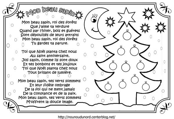 Chant De Noel Paroles A Imprimer