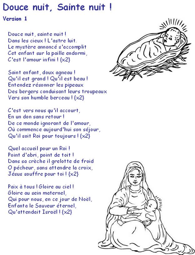 chant de noel religieux