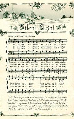 chant de noel silent night