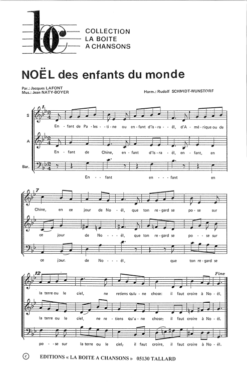 musique de noel du monde